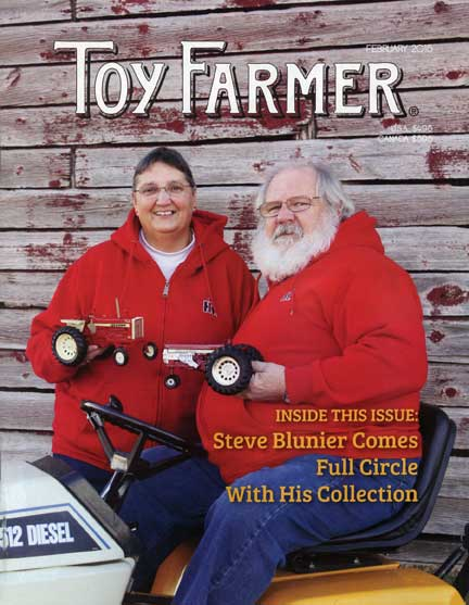 Feb TF; Steve Blunier; Eclectic; Pedal Tractor; Big D; Dwight Emstrom; Minneapolis-Moline