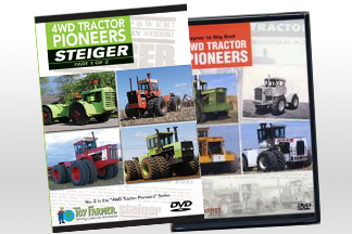 DVD's, Toy Farmer, Steiger Part 1 of 2 DVD, Steiger Part 2 of 2 DVD