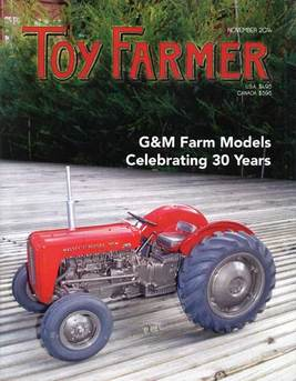Nov Toy Farmer; Farm collecting; TF; G&M Farm Models