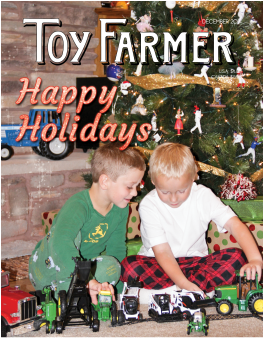 Happy Holidays; Dec TF; Toy Farmer; toy collecting