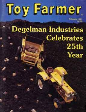 February 1991, Toy Farmer, Subscribe, www.toyfarmer.com