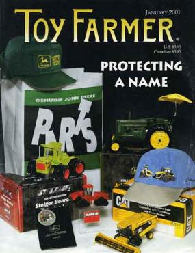 January 2001, Toy Farmer, Subscribe, www.toyfarmer.com