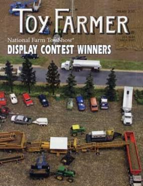National Farm Toy Show display contest, January 2013, Toy Farmer, Subscribe, www.toyfarmer.com